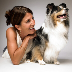 Sarah and Sheltie Picture